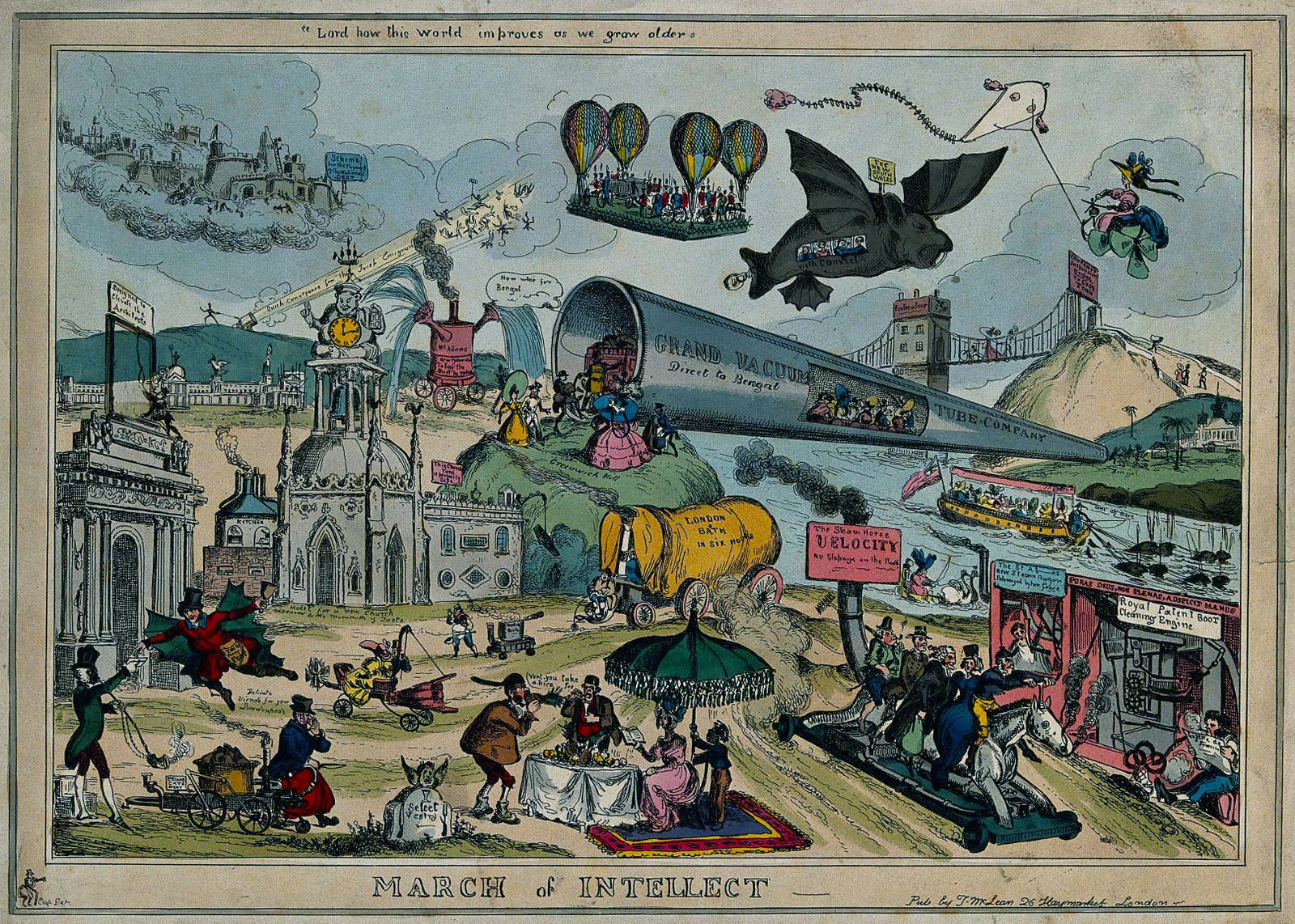 Satirical Artist William Heath