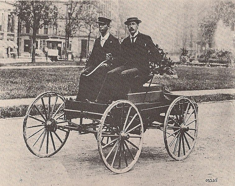 Roads were not built for cars detroit s most famous for Car carriage