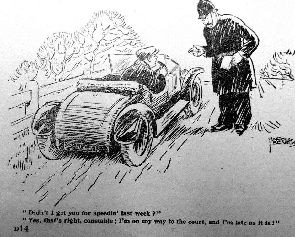 speeding1930s