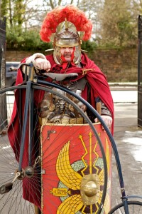 RomanCenturionHighWheelBicycle