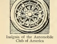 Automobile Club of America logo 1900