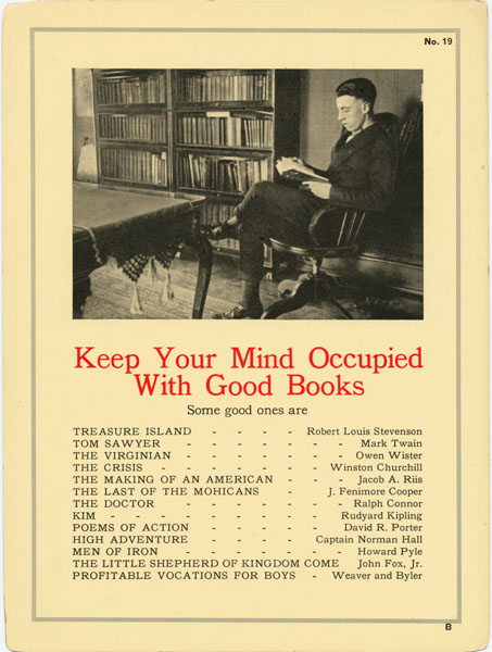Keep Your Mind Occupied with Good Books