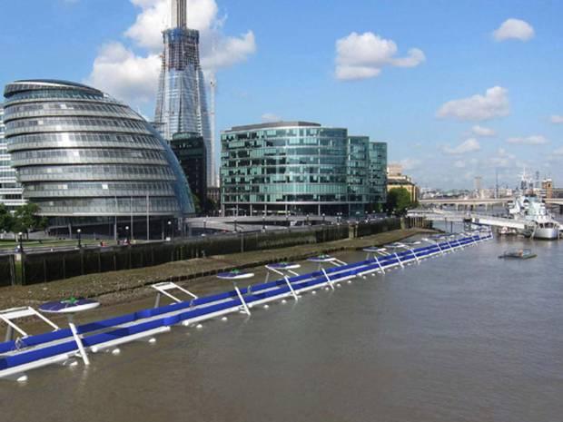 Floating-cycleway