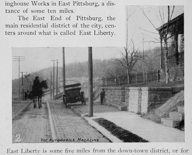Motorists have been footway-parking since at least 1902. [Automobile magazine]